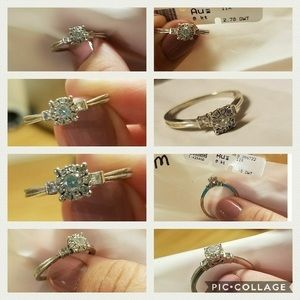 Jewelry - White Gold and Diamond Engagement Ring